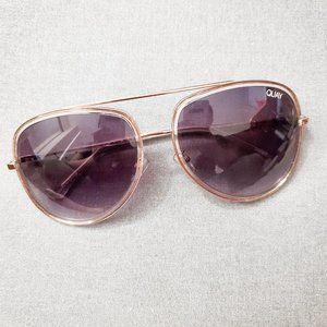 QUAY - ALL IN Oversized Sunglasses + Case